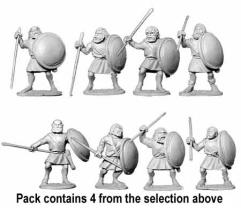 Unarmored Spearmen