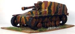 SdKfz124 - 10.5CM Panzerhaubitze Wespe