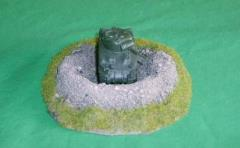 Tank/Gun Bunker