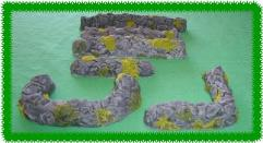 Assorted Stone Walls Set