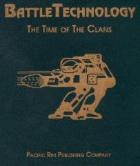 BattleTechnology - The Time of the Clans Empty Protective Binder