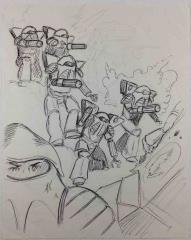 Battletech Armored Infantry Concept Sketch #1
