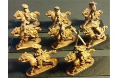 Stygian Cavalry w/Bows, Unarmored Horse