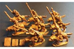 Orcian Wolf Cavalry w/Spears Heavily Armored