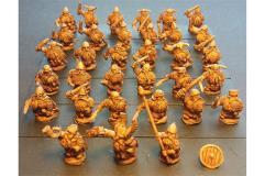 Dwarian Swordsmen w/Shields