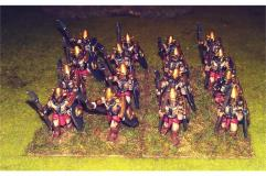 Hellian Spearmen w/Shields (Half-Pack)