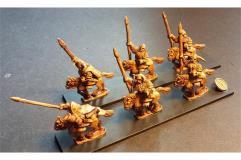 Dwarian Pony Cavalry w/Spear and Shields