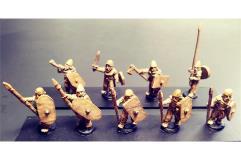 Barbarian Spearmen w/Shields