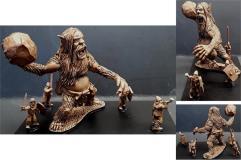 Barbarian Great Ape Rock Thrower