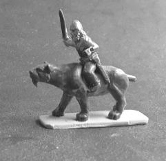 Barbarian Cavalry w/Bows on Saber Tooths