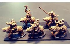 Dwarian Cavalry w/Crossbows on Bears