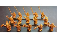Dwarian Command Officers, Standards, and Musicians