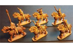 Frigian Cavalry w/Hand Weapons and Shields on Lightly Armored Horse