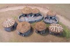 Orcian Settlement w/Removable Roofs