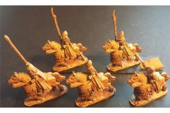 Elvian Cavalry w/Spears, Shields, and Lightly Armored Horse