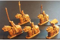 Elvian Cavalry w/Spears, Shields, and Heavily Armored Horse