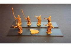 Elvian Command Officers, Standards, and Musicians
