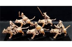 Delvian Cavalry w/Crossbow on Snow Tigers