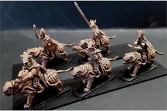 Delvian Cavalry w/Crossbow on Heavily Armored Tigers