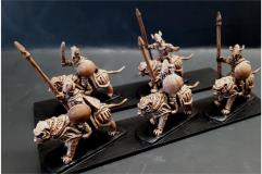 Delvian Cavalry w/Lance & Shields on Heavily Armored Tiger