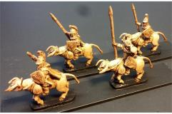 Legian Cavalry w/Spears and Shields on Lightly Armored Bulls