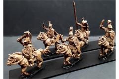 Legian Cavalry w/Swords and Shields on Horses (Half Pack)