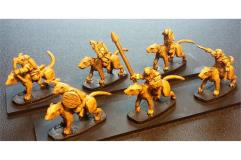 Cavalry w/Bows on Unarmored Ratweillers (Half-Pack)