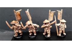 Ashigaru w/Various Weapons