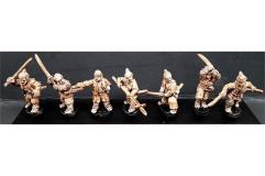 Seven Unarmored Samurai