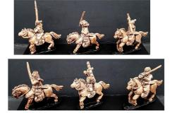 Mounted Bandits w/Various Weapons