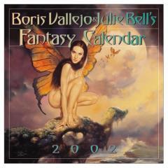 Boris Vallejo & Julie Bell's Fantasy Calendar (2002)