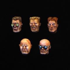 Male Combat Heads #1