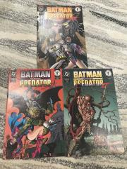 Batman Versus Predator II Collection #1-2, 4