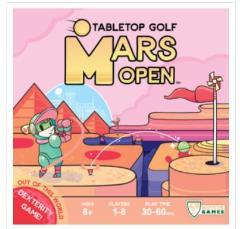 Mars Open - Tabletop Golf
