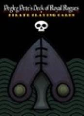 Pegleg Pete's Deck of Royal Rogues - Black