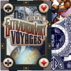 Deck of Extraordinary Voyages - Blue Bleu