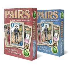 Pairs - Wild West (Red Deck)
