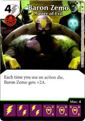 Baron Zemo - Master of Evil