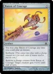 Baton of Courage (C) (Foil)