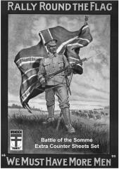 Rally Round the Flag - Battle of the Somme Extra Counter Sheet Set