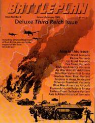 "#8 ""Deluxe Third Reich Issue w/Map, Druid, Kanev, Up Front"""
