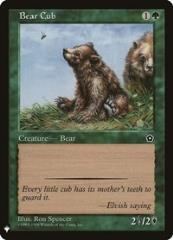 Bear Cub (C)