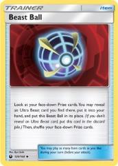 Beast Ball (U) #125 (Reverse Holo)