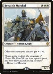 Benalish Marshal (R) (Foil)