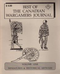 Best of the Canadian Wargamer's Journal #1