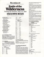 Blue & Gray II - Battle of the Wilderness