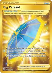 Big Parasol (Secret) (Secret R) #199/189 (Holo)