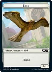 Bird // Treasure Double-sided Token (T) (Foil)