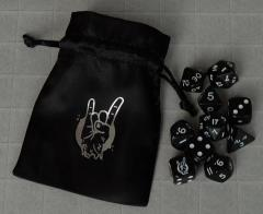 Black Hack, The - Poly Dice Set & Pouch