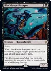 Blacklance Paragon (R) (Foil)